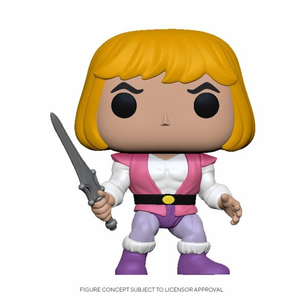 Masters of the Universe POP! Animation Vinyl Figur Prince Adam 9 cm