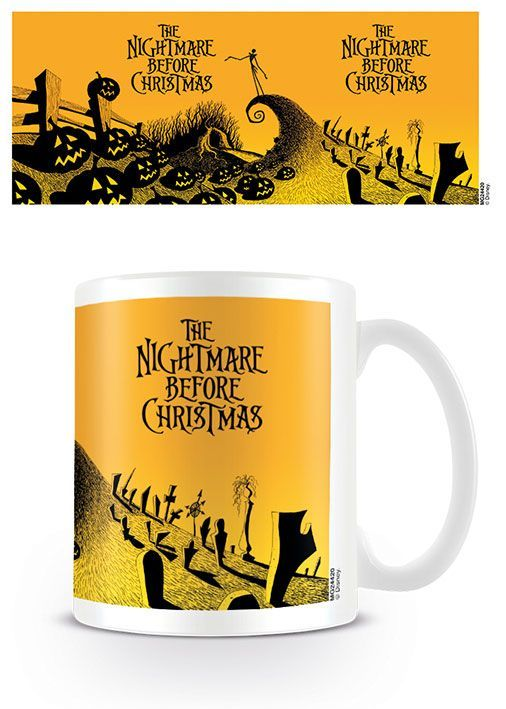 Nightmare Before Christmas Tasse Graveyard Scene