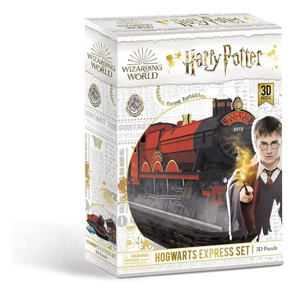 Harry Potter 3D Puzzle Hogwarts Express Set (180 Teile)