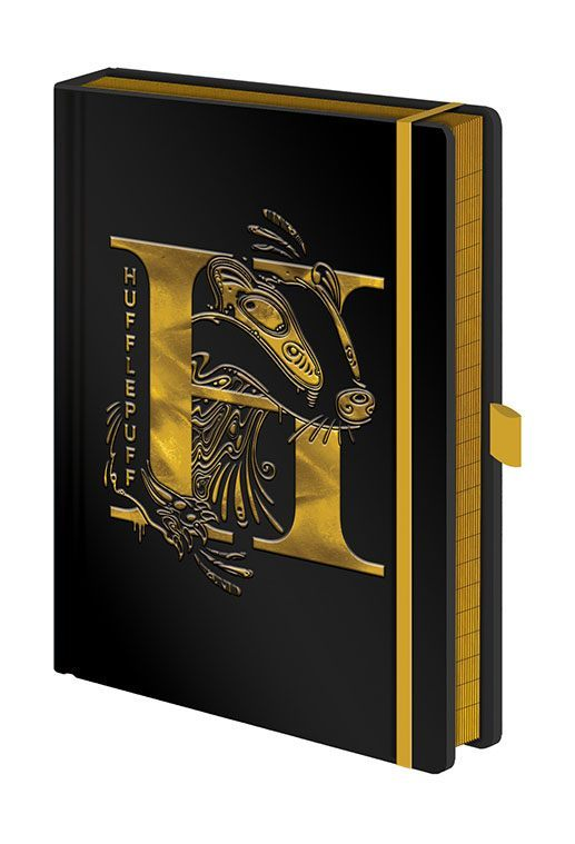 Harry Potter Premium Notizbuch A5 Hufflepuff Foil