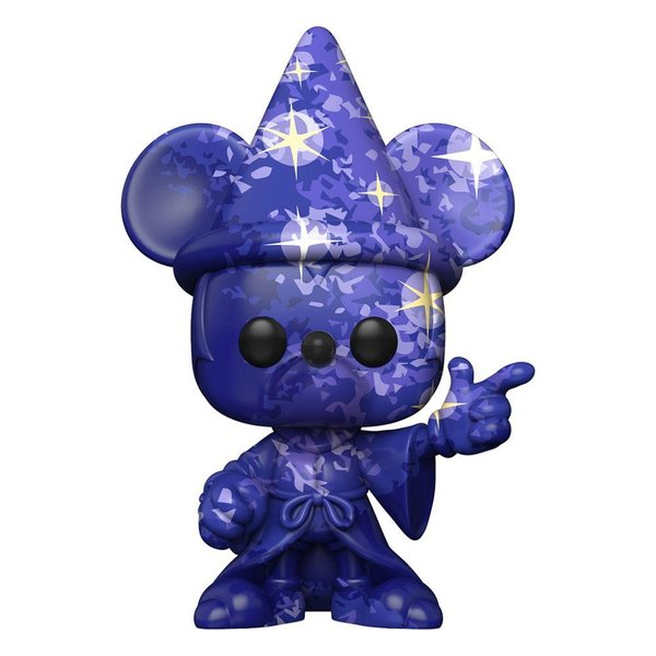 Fantasia 80th Anniversary POP! TV Vinyl Figur Mickey #1(Artist Series) wPop Protector 9 cm