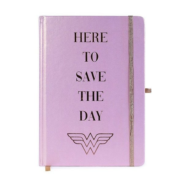 Wonder Woman Premium Notizbuch A5 Here to Save the Day