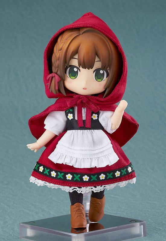 Original Character Nendoroid Doll Actionfigur Little Red Riding Hood: Rose 14 cm