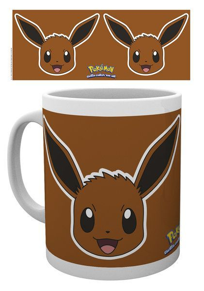 Pokemon Evoli Face Tasse