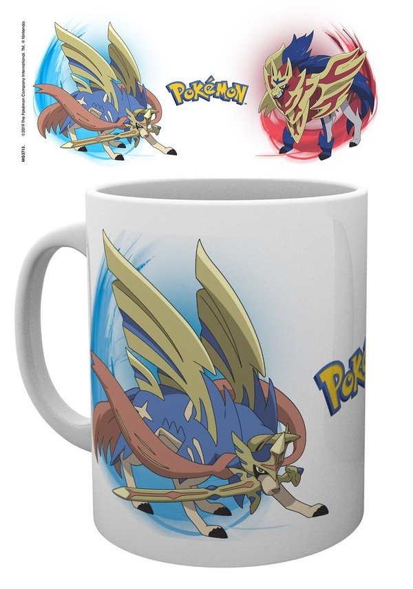 Pokemon: Zamazenta and Zacian Tasse