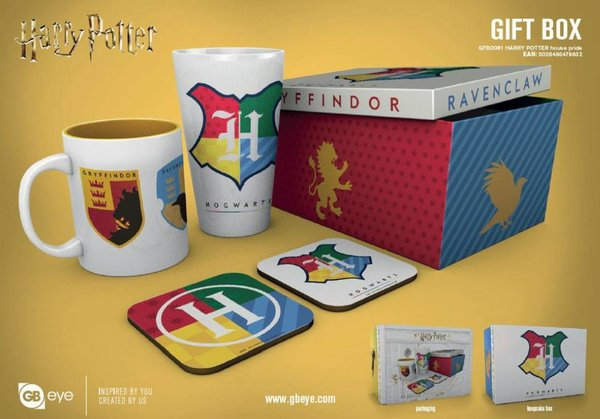 Harry Potter Geschenkbox House Pride