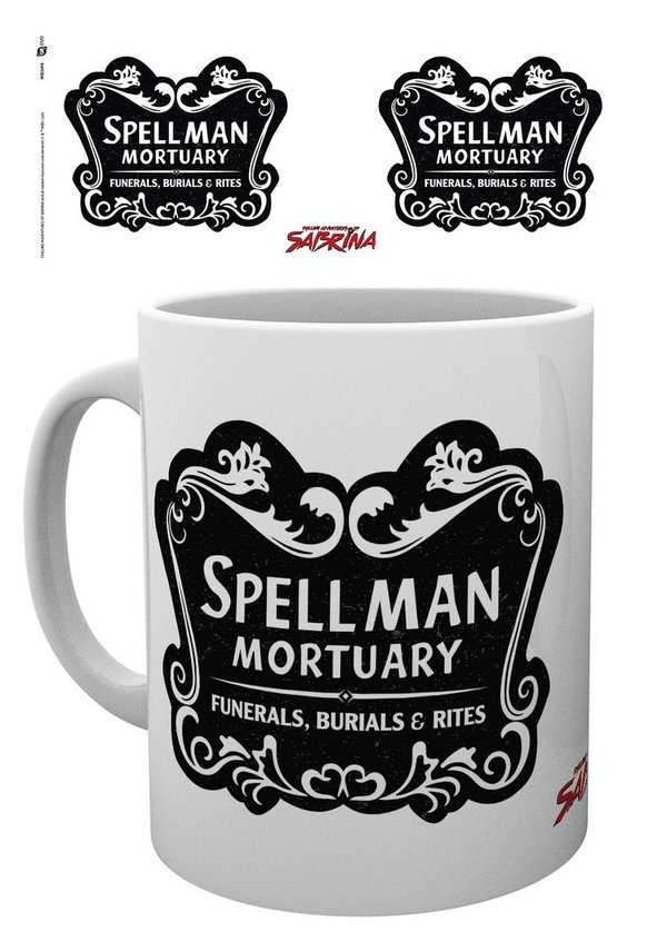 Chilling Adventures of Sabrina Spellman Mortuary Tasse