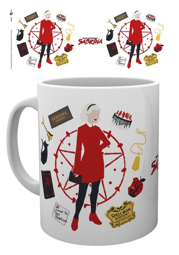 Chilling Adventures of Sabrina Icons Tasse