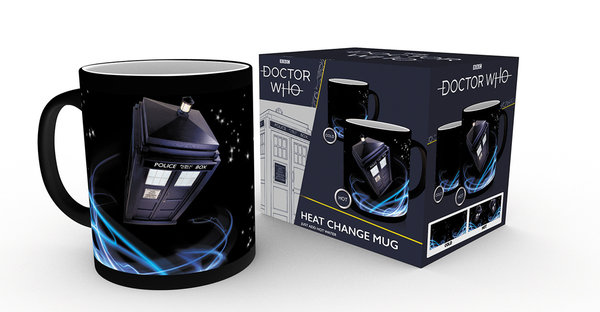 Doctor Who Tardis Thermoeffekt Tasse