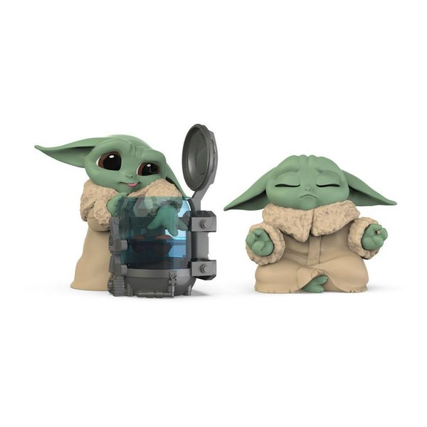 Star Wars Mandalorian Bounty Collection Figuren 2er-Pack The Child Curious Child & Meditation