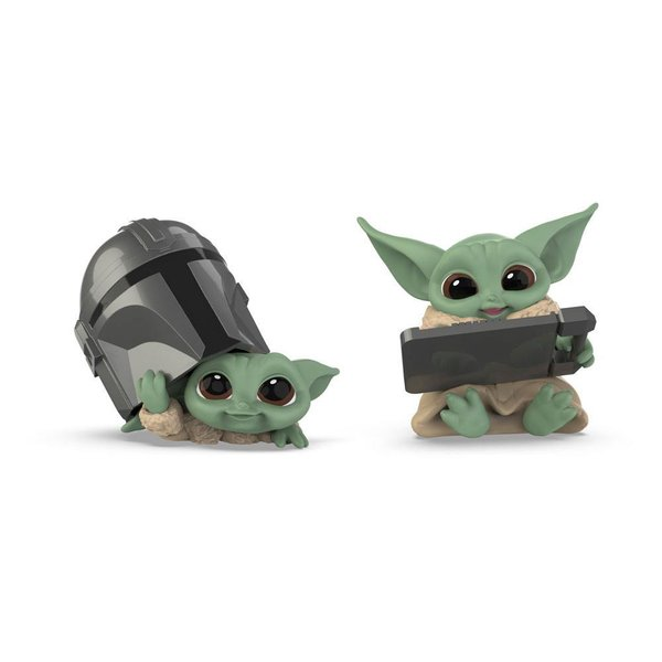 Star Wars Mandalorian Bounty Collection Figuren 2er-Pack The Child Helmet Peeking & Datapad Tablet