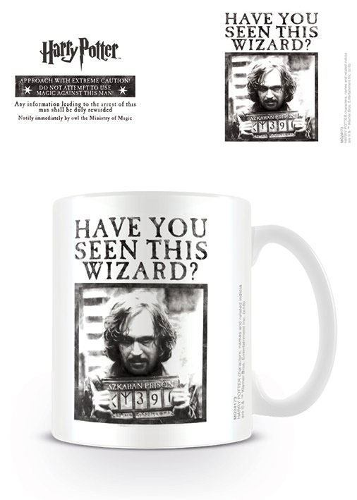 Harry Potter Tasse Wanted